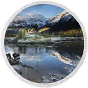 Thoreau Round Beach Towel