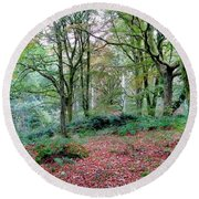 Thornthwaite Round Beach Towel