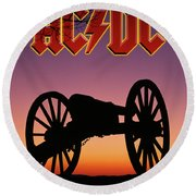Those That Rock Round Beach Towel by Gary Grayson