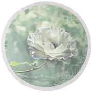 Round Beach Towel featuring the photograph Thoughts Of You by Linda Lees