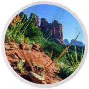 Thunder Mountain 07-006 Round Beach Towel