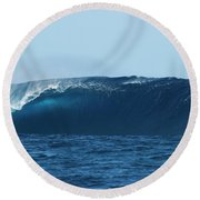Thundercloud Round Beach Towel