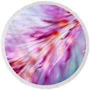 Round Beach Towel featuring the photograph Tickle My Fancy by Carolyn Marshall