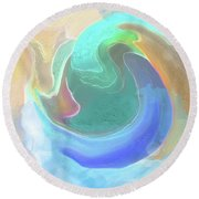Tidal Pool Round Beach Towel