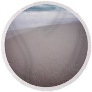 Tide Round Beach Towel by Jerry Golab