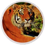 Tiger 22218 Round Beach Towel