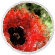 Till The End Of Spring... Round Beach Towel