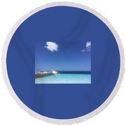 Time Away From Time Round Beach Towel