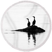 Time With You Round Beach Towel