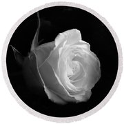 Timeless Beauty Round Beach Towel by Roy McPeak