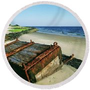 Timeless Treasure Round Beach Towel