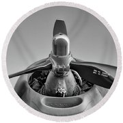 Tinker Belle Power - 2017 Christopher Buff, Www.aviationbuff.com Round Beach Towel