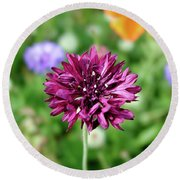 Tiny Flower Round Beach Towel