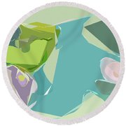 Tissue Paper Round Beach Towel