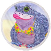Toadaly Beautiful Round Beach Towel