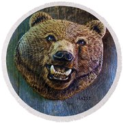 Together Again Round Beach Towel by Ron Haist