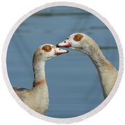 Together Forever Round Beach Towel