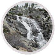Tokopah Falls Round Beach Towel