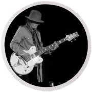 Cheap Trick Tom Peterson Round Beach Towel