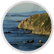 Tomales Point Round Beach Towel