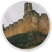 Tomar Castle, Portugal Round Beach Towel
