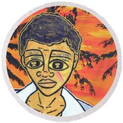 Tony Round Beach Towel