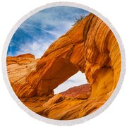Top Arch Round Beach Towel