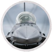 Top Gun V Round Beach Towel
