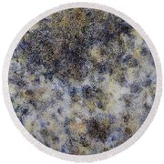 Top Quality Art - Clouds Round Beach Towel