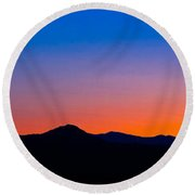 Tornillo Sunset Round Beach Towel