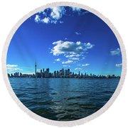Round Beach Towel featuring the photograph Toronto 1 by Mariusz Czajkowski