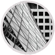 Toronto Center Round Beach Towel by David Pantuso