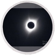 Total Eclipse 2017 Round Beach Towel