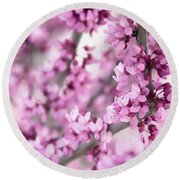 Touch Of Spring II Round Beach Towel