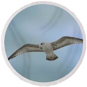 Round Beach Towel featuring the photograph Touching The Sky by Phil Mancuso