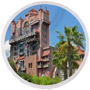 Tower Of Terror Mp Round Beach Towel