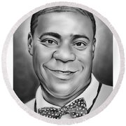 Tracy Morgan Round Beach Towel