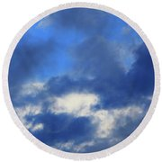 Trade Winds Round Beach Towel