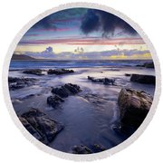 Traigh Allathasdall, Isle Of Barra Round Beach Towel