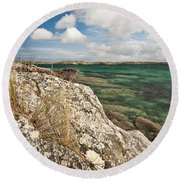 Traigh Na Berie Round Beach Towel