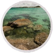 Traigh Na Berie IIi Round Beach Towel