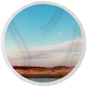Tranquil Heaven Round Beach Towel