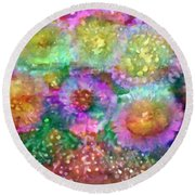 Transference  Round Beach Towel
