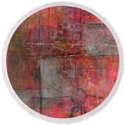 Transparency Round Beach Towel