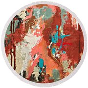 Traveler Round Beach Towel