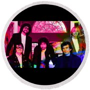 Traveling Wilburys Round Beach Towel