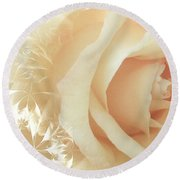 Tread Softly Round Beach Towel
