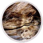 Tree Memories # 12 Round Beach Towel by Ed Hall