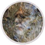 Tree Memories # 15 Round Beach Towel by Ed Hall