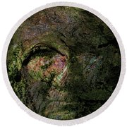 Round Beach Towel featuring the photograph Tree Memories # 18 by Ed Hall